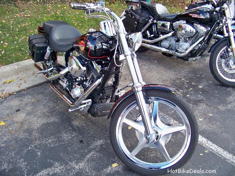 These are pictures of the Motorcycles which did in fact show up for the last Tilted Kilt Bike show of the summer or rather year.  It was to be the last of the HotBikeDeals.com / Tilted Kilt Bike Shows.  The restaurant management wanted us there just in case we had a decent turnout.  By 11:00 am there were no bikes because of the temperature.  However by 11:30 there were about 15 bikes which had braved the cold.  By then it was too late to get started.  One of the attendees voiced his frustration due to his cold ride but understood why we didn't still hold it.  At least for the Car show a week earlier, those guys have heaters in their cars...  Next year we may be having a show just about every night of the week at the Tilted Kilts all over Chicagoland.  Stay tuned into the website events section for more.  And thank you to those of you who still showed up!