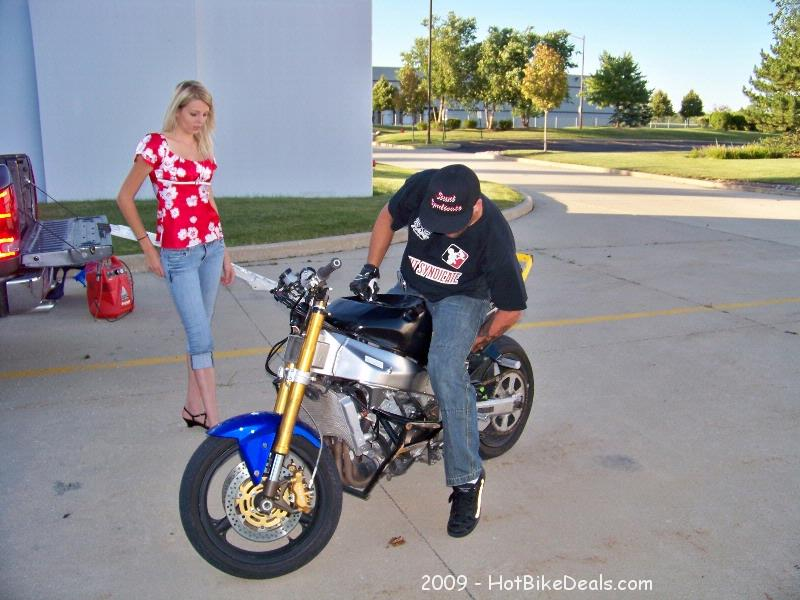 Stunt Riding Practice Session on 7-15-2009