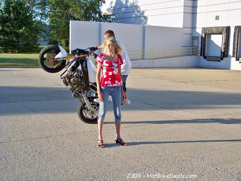 Stunt Riding Practice Session on 7-15-2009