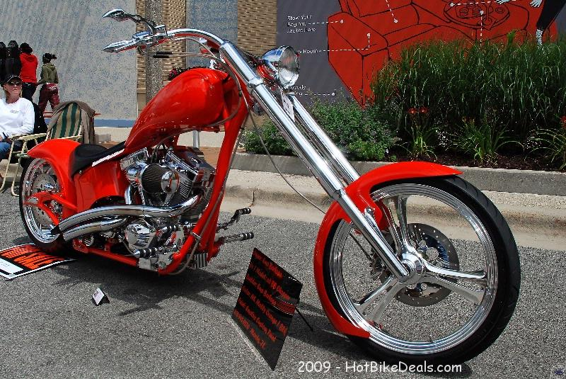 Custom Bike show that was held in Bolingbrook, IL on 07/18/09