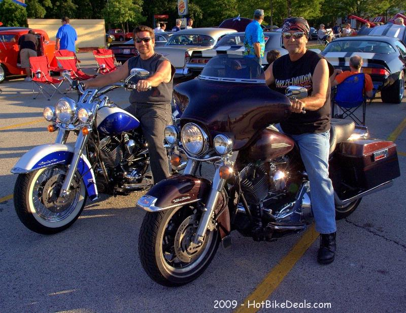 There was a good turnout of bike last night in Westchester.