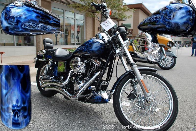 Custom Bike show that was held in Bolingbrook, IL on 07/18/09