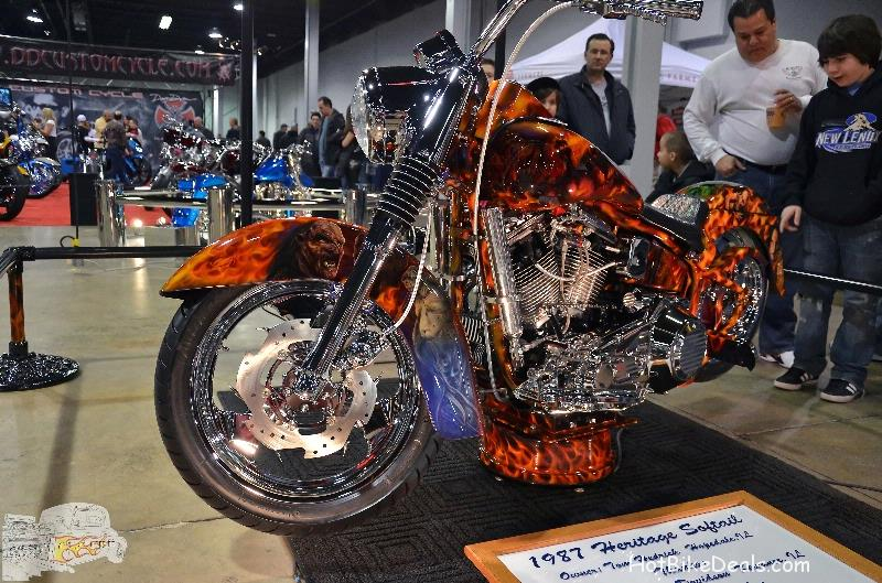 Various shots of bikes from the World of Wheels held this March in Rosemont, Illinois.