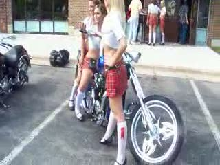 Add Comment To: Melanie, Kayla and Amanda on the Winning chopper