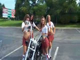 Add Comment To: 4 girls and a bike