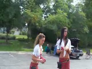 Kayla and Caitlyn  Juggling the bean bags from:DotComd
