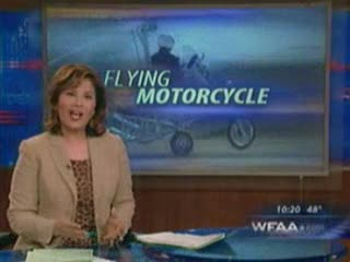 Flying Motorcycle $25000 dollars! from:DotComd